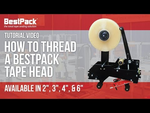 How to Thread a BestPack Tape Head