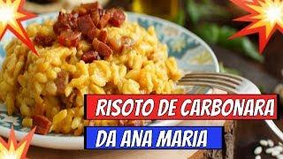 ➡️➡️Programa Mais Voçê 08/ 05/19➡️➡️Receita de Risoto a Carbonara da Ana Maria Braga Hoje