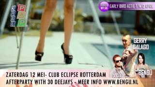 Gerry Galago - Zaterdag 12 mei Bengu & Ozan Dogulu Live @ Club Eclipse Rotterdam