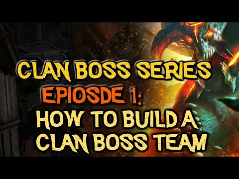 RAID: Shadow Legends | Clan Boss Series Episode 1. How to build a Clan Boss Team? Beginner 2 Endgame