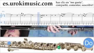 Tutorial de Flauta Mission Impossible - Theme Clases Notas Parte#2 um-i927