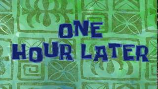 One Hour Later | SpongeBob Time Card #21