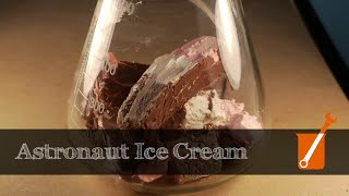 Making astronaut ice cream in my home shop