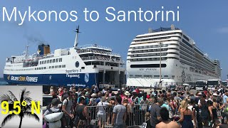 Ferry Mykonos to Santorini