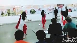 Theme dance on Girl Power/woman abuse