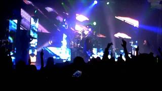 Korn ft Skrillex and Kill the Noise Narcissistic Cannibal Hollywood Palladium 12-6-2011