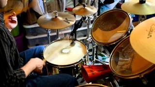The Sun Always Shine on Tv   A-ha  Drum Cover