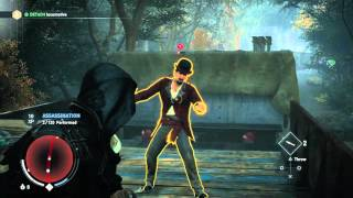 Assassin's Creed: Syndicate - A Simple Plan: Evie Frye Whistle Tutorial & Knife Throwing Gameplay