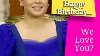 Mayor Inday Sara Duterte  Happy Birthday...