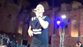 Fine Concerto Eros Ramazzotti ***Più Bella Cosa*** 15 Settembre 2016 Teatro Antico Di Taormina