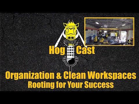 Hog Cast - Organization and Clean Workspaces