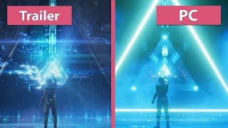 Downgrade? Mass Effect: Andromeda – Trailer vs. PC Retail Graphics Comparison