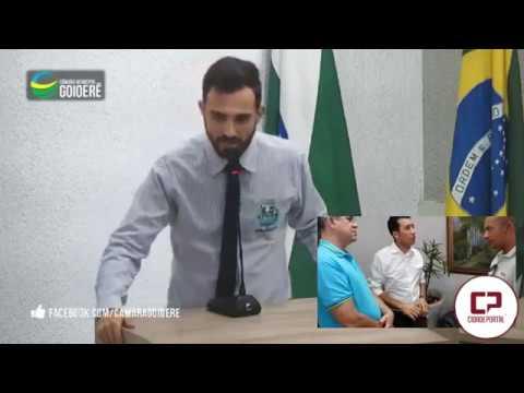 Vereador Patrik Peloi agradece o Deputado Soldado Adriano pela emenda para Santa Casa de Goioerê