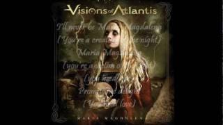 Visions Of Atlantis - Maria Magdalena (lyrics on screen)