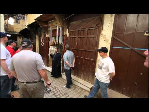 2011 The guide does his stuff in Fes