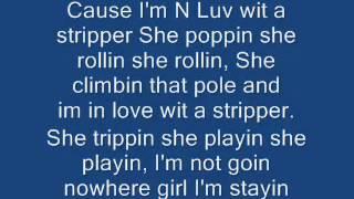 Im In Love With A Stripper-T Pain lyrics