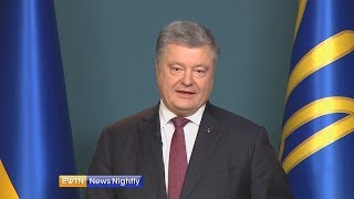 Ukraine's President Warns His Country Is on Verge of War with Russia - ENN 2018-11-27