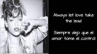 Rihanna - Drunk On Love (Lyrics & Traducción en Español)
