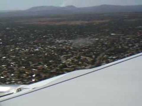 Aterrezaje en Managua Nicaragua