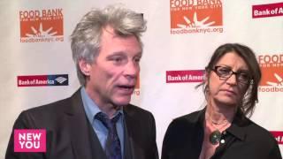 Jon Bon Jovi and Dorothea Bon Jovi at Food Bank NY Can-Do Awards