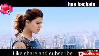 New version of hue bachain  song ! Ek hasina thi ek deewana tha movie !