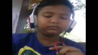 Menahan rindu wani hasrita cover smule by hazury 12years