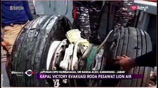 Detik-detik Pengangkatan Roda Lion Air JT 610 oleh Tim Penyelam TNI AL - iNews Sore 02/11