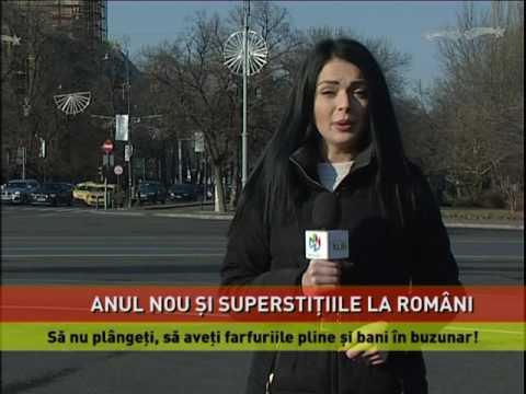 Anul Nou şi superstiţiile la români
