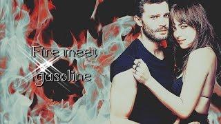 Christian & Ana ♥ Fire Meet Gasoline
