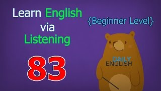 Learn English via Listening Beginner Level | Lesson 83 | Garden