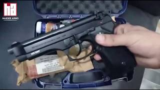 Beretta 92 FS | Original Barrel & Magazine | Graphite Black | 15 Shots | Haider | Arms