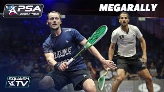 """""""Wow, it's incredible movement!"""" - Squash MegaRally - Gaultier v Hesham"""
