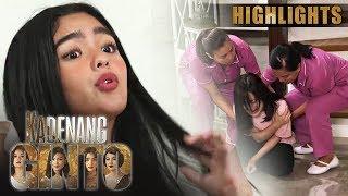 Cassie, nahulog sa hagdan dahil kay Marga | Kadenang Ginto (With Eng Subs)