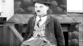 Charlie Chaplin messed up the shot