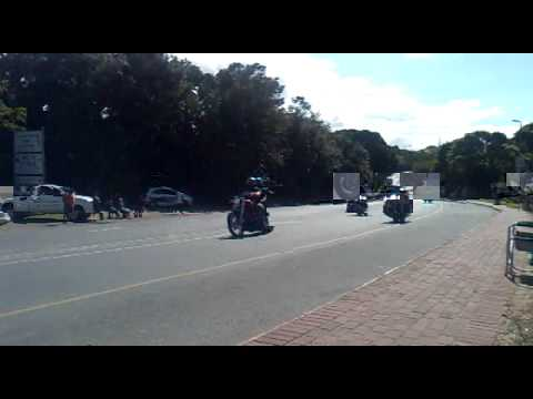Africa Bike Week 2011 : Mass ride & Flags