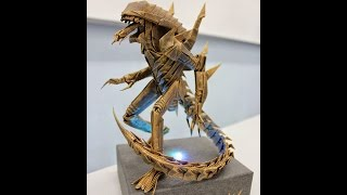 Origami Alien Warrior Walkthrough! - Kade Chan - Lifelike