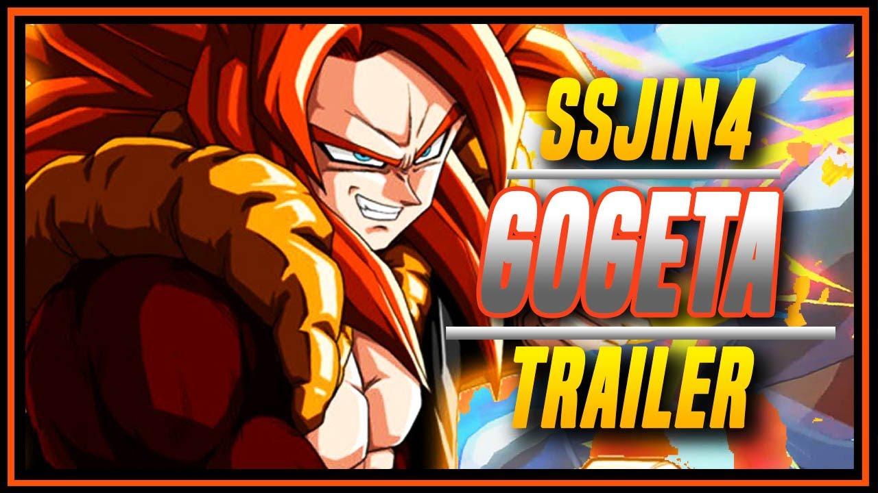 YogaFlame24 - DBFZ ➤ Gogeta Super Saiyan 4 Trailer  [ Dragon Ball FighterZ ]