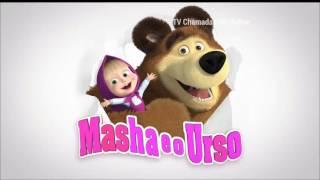 [Chamada] Estreia de Masha e o Urso no Carrossel Animado | SBT (30/05/2016).
