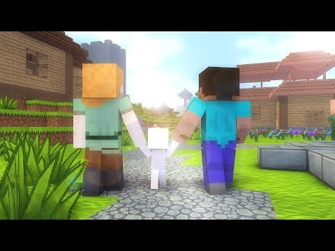 Download Video Steve Life 1-7  - Minecraft Animation