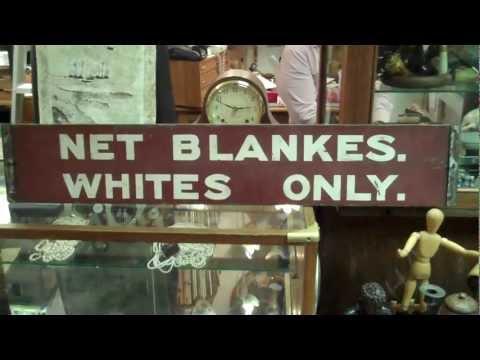 APARTHEID South Africa. Racial segregation signboard.