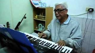 電子琴教學【高雄全音符教學中心】全音符中西樂團演奏~*月亮代表我的心*~