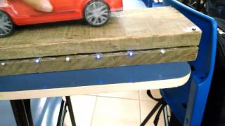 Geração de energia elétrica com piezoelétrico