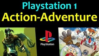 10 Awesome PS1 Action Adventure Games 😍 Video 1 ... (Gameplay)