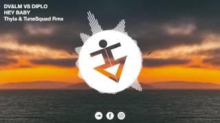 Dimitri Vegas & Like Mike vs Diplo - Hey Baby (Thyla & TuneSquad Remix)