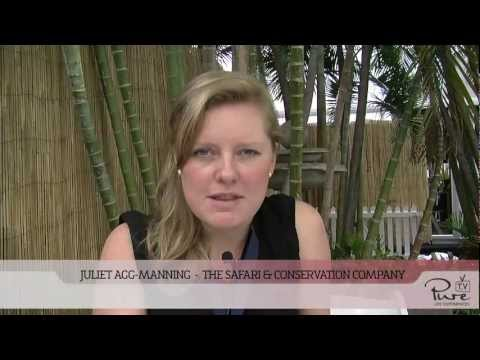 PURE interview with Juliet Agg-Manning from The Conservation & Safari Company