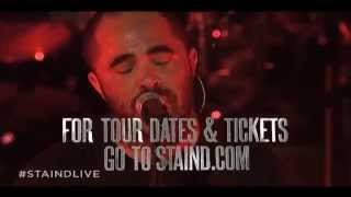 Staind Tour Announce 2014