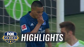 VfL Wolfsburg vs. Hamburger SV | 2017-18 Bundesliga Highlights