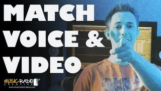 How to Match Voice Over with Video (from an iPhone)