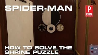 Spider-man - How to Complete the Shrine Puzzle