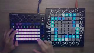 Mercer - Turn It Up (Tchami Remix) [Fail-X Edit] // Launchpad vs. Novation Circuit
